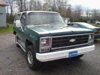 1979 Chevrolet Blazer, Front, exterior