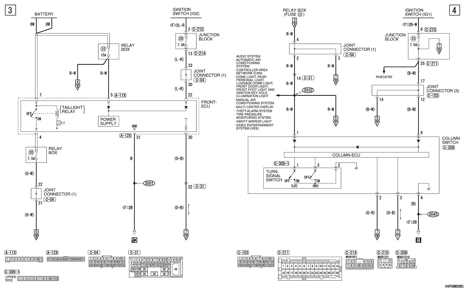 Sensor Wiring Diagram Additionally 2003 Toyota Tundra Oxygen Radio For 2001 2000 Mitsubishi Montero Schema