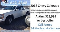 Picture of 2012 Chevrolet Colorado Work Truck, gallery_worthy