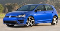 2015 Volkswagen Golf R, Front-quarter view, exterior, manufacturer, gallery_worthy