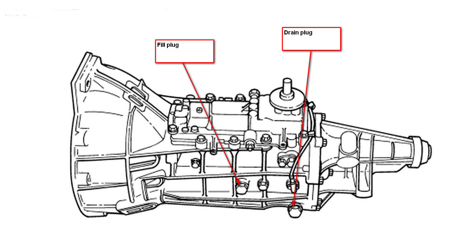 Ford Ranger Questions How Do You Fill Transmission Oil