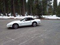 1989 Chevrolet Corvette Convertible, Sitting at Mt Shasta, exterior