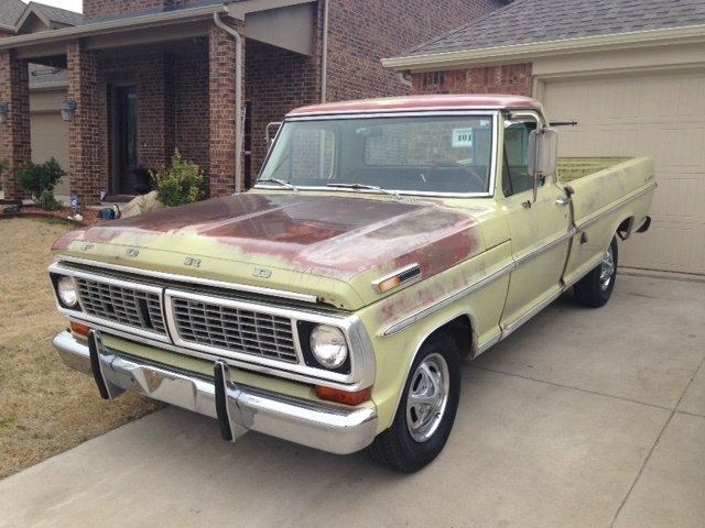 1970 Ford F-100 - Pictures - CarGurus