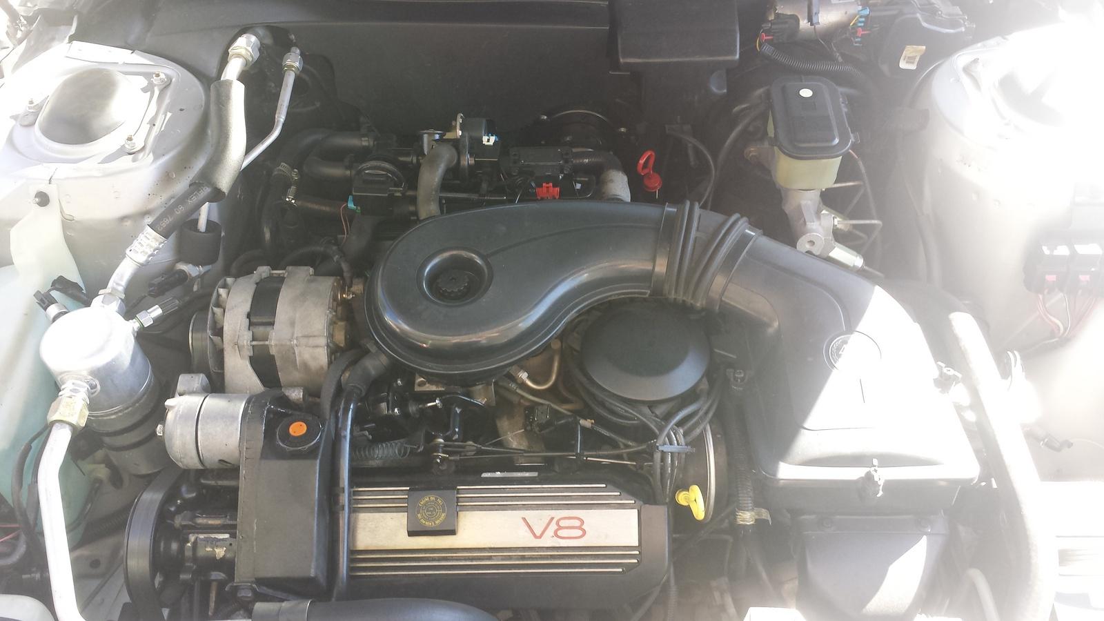 Picture of 1988 Cadillac DeVille Base Sedan, engine