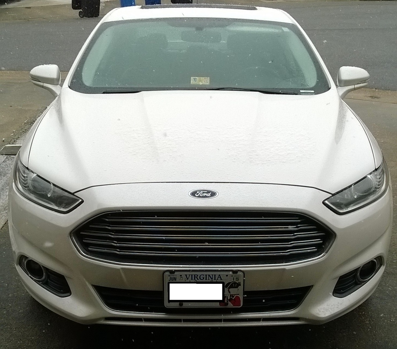 picture of 2013 ford fusion titanium exterior. Cars Review. Best American Auto & Cars Review