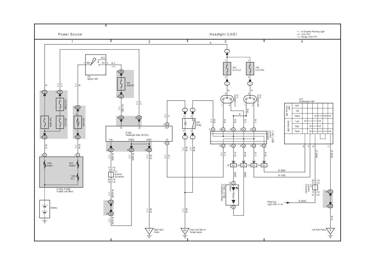 Toyota Rav4 Wiring Diagrams Another Blog About Diagram 2010 Kenworth Schematic Stereo Get Free Image 2003