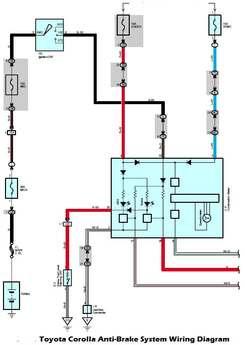 Fuel System Wiring Diagram 2005 Toyota - Auto Electrical Wiring ...