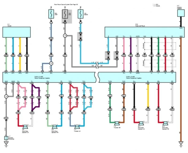Toyota Matrix Wiring Diagram. Toyota. Wiring Diagrams Installations