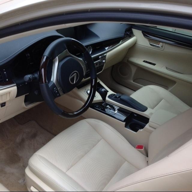 2013 Lexus Es Interior: 2015 Lexus ES 350