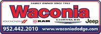Waconia Dodge Chrysler Jeep logo