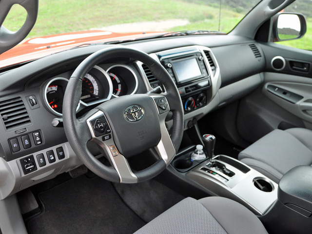 2015 Toyota Tacoma Double Cab V6 TRD Pro, 2015 Toyota Tacoma TRD Pro Double Cab, interior, gallery_worthy