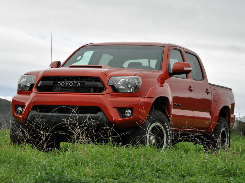 2015 Toyota Tacoma TRD Pro Double Cab Inferno Orange