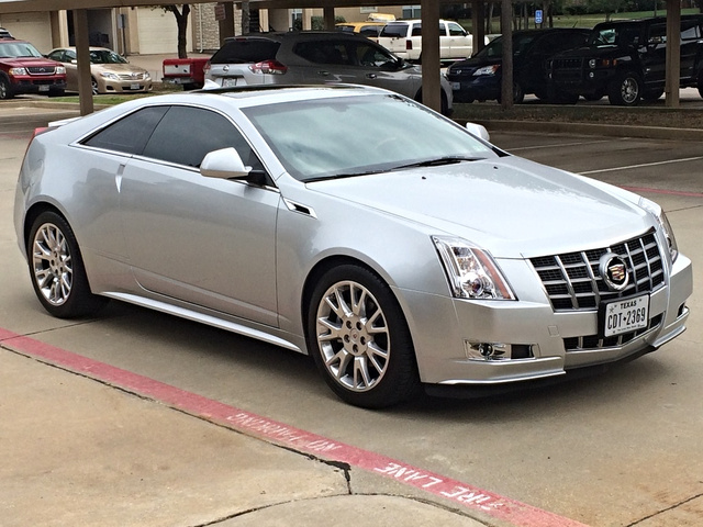 2012 Cadillac Cts Coupe Pictures Cargurus