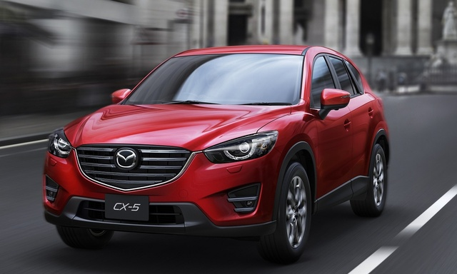 2016 Mazda CX-5, Front-quarter view, exterior, manufacturer, gallery_worthy