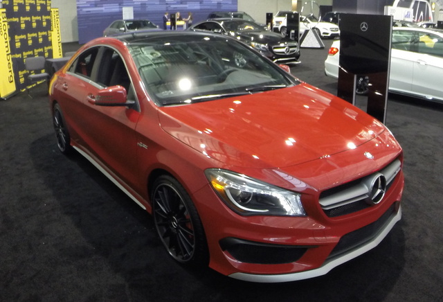 2015 Mercedes-Benz CLA-Class, Front-quarter view, exterior, gallery_worthy