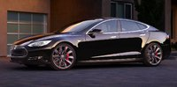 2015 Tesla Model S, Front-quarter view, exterior, manufacturer, gallery_worthy