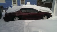 2003 Chevrolet Monte Carlo SS, buried