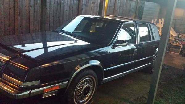 Picture of 1990 Chrysler Imperial 4 Dr STD Sedan, exterior, gallery_worthy