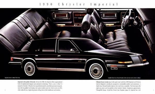 Picture of 1990 Chrysler Imperial 4 Dr STD Sedan, engine, gallery_worthy