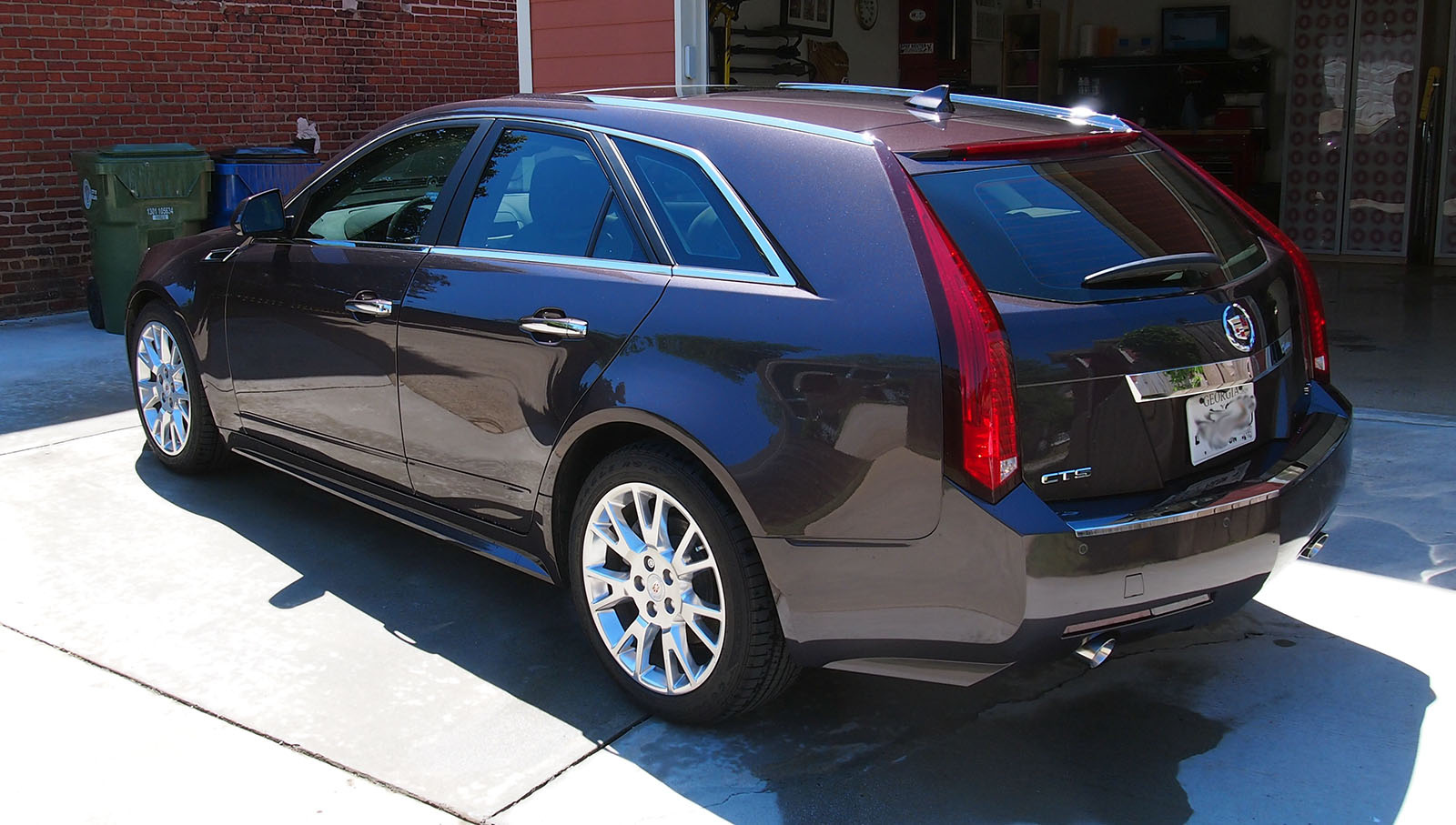 picture of 2014 cadillac cts sport wagon 3 6l premium exterior. Cars Review. Best American Auto & Cars Review