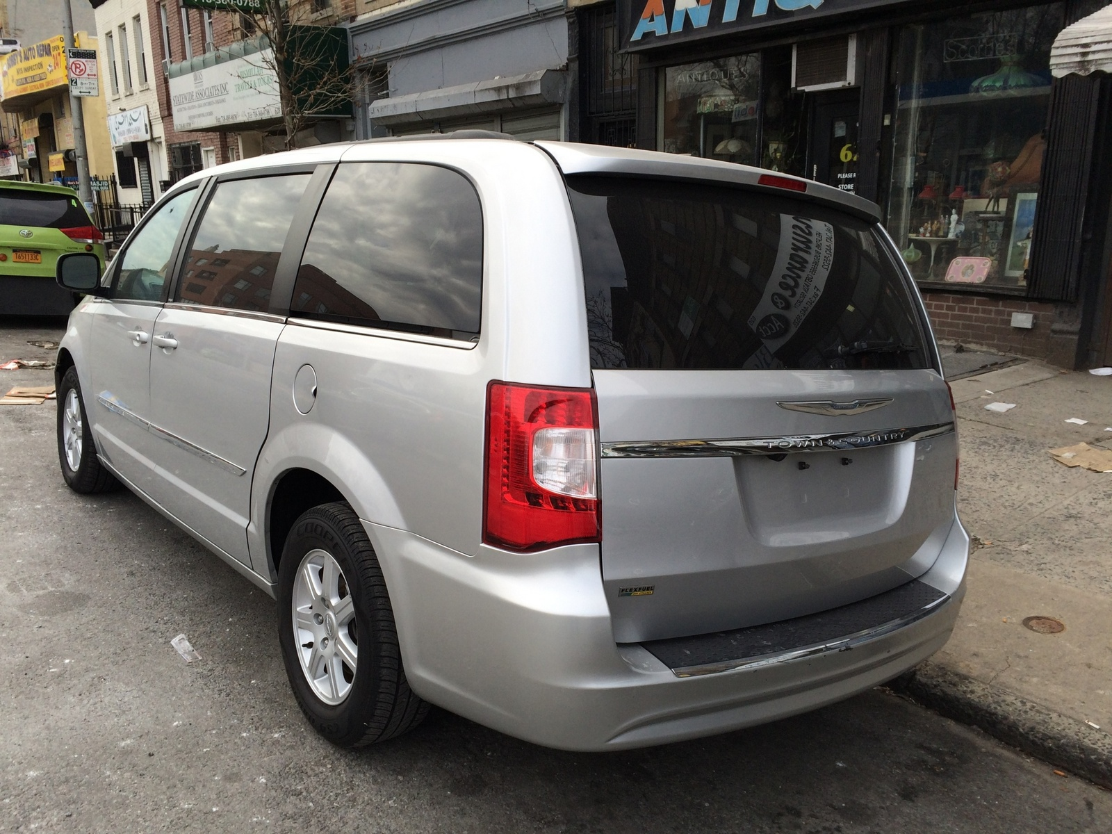 picture of 2012 chrysler town country touring exterior. Black Bedroom Furniture Sets. Home Design Ideas
