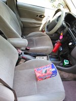 Picture of 2000 Ford Contour 4 Dr SE Sedan, interior