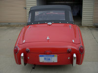 1957 Triumph TR3 Overview