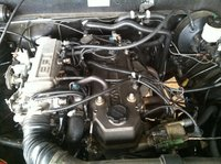 Picture of 1985 Toyota Pickup 2 Dr STD 4WD Standard Cab SB, engine