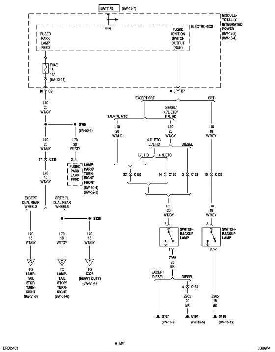 dodge ram stop light wiring diagram wiring diagram data today