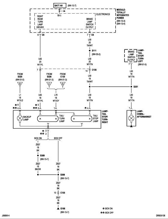 Wiring Diagram Dodge Ram 1500 2007 Tail Lights - Auto Electrical ...