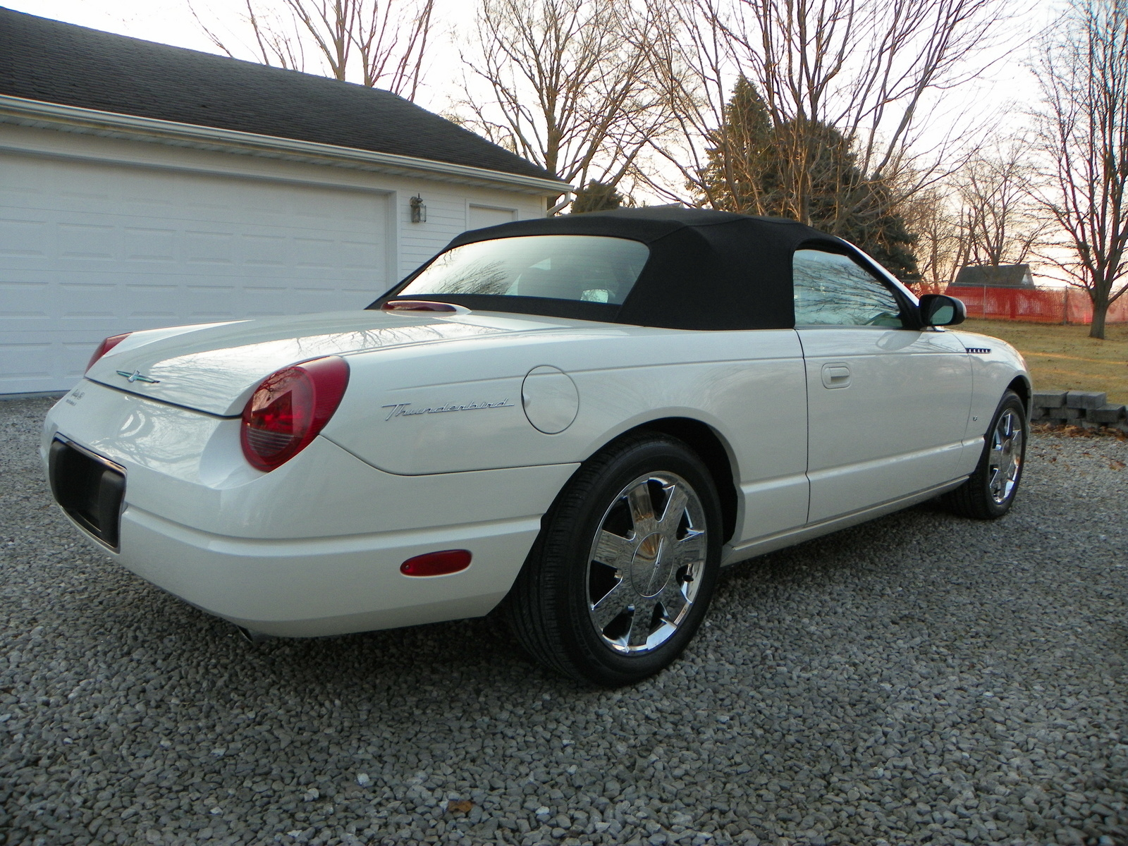 2003 Ford Thunderbird Accessories
