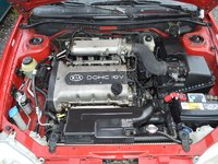 Picture of 2001 Kia Sephia 4 Dr LS Sedan, engine