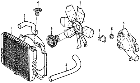 mercury sable radiator diagram with Lincoln Town Car Thermostat Housing on Evap Canister Location 2000 Mercury Sable furthermore Ford F150 How To Replace Your Water Pump 360074 together with Lincoln additionally  also 2000 Ford Taurus Engine.