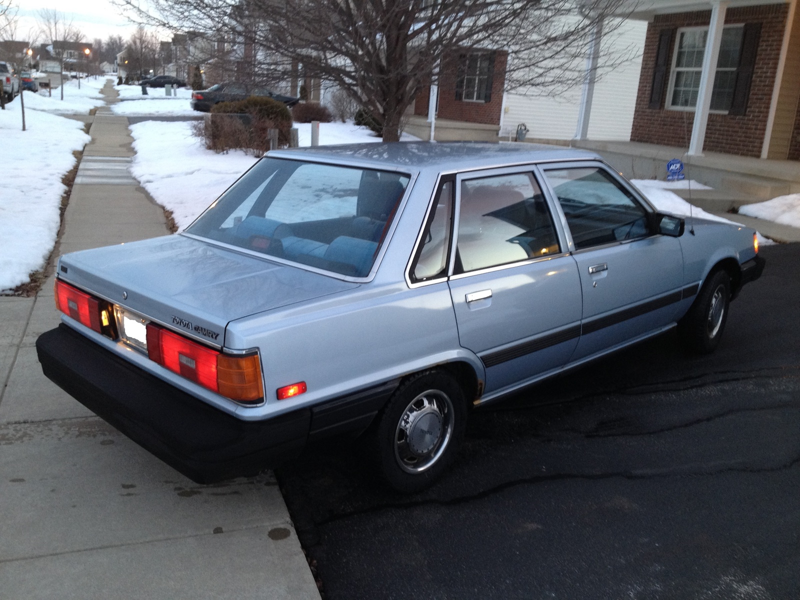 1986 Toyota Camry Overview Cargurus