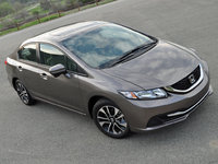 2015 Honda Civic EX Sedan, exterior