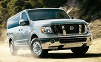 2015 Nissan NV Passenger, Front-quarter view, exterior, manufacturer, gallery_worthy