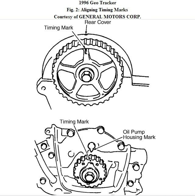 1994 Geo Tracker Engine Diagram