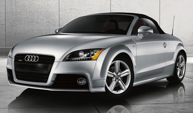 2015 Audi TT, Front-quarter view, exterior, manufacturer, gallery_worthy