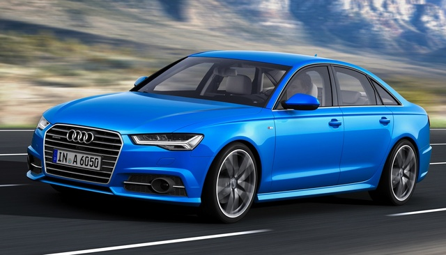 2016 Audi A6, Front-quarter view (European version), exterior, manufacturer