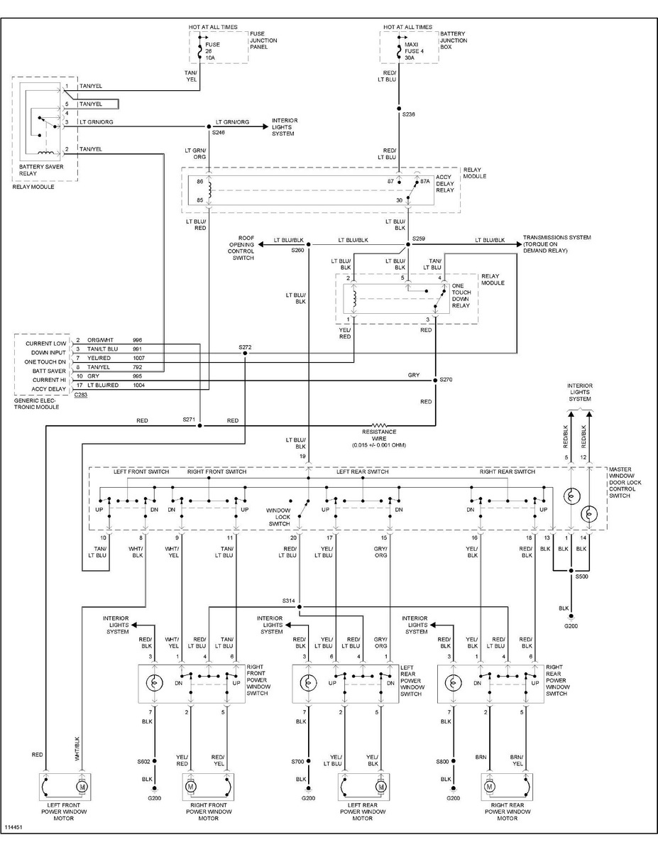 2000 ford explorer window diagram wiring diagram