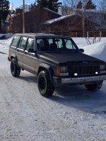 1988 Jeep Cherokee 4 Dr Pioneer 4WD, The Jeep