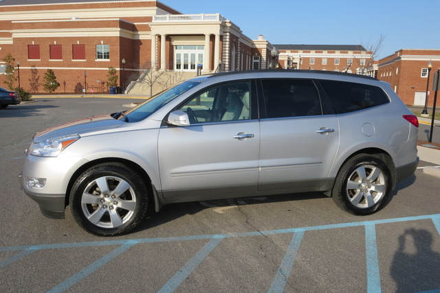 picture of 2012 chevrolet traverse ltz awd exterior. Cars Review. Best American Auto & Cars Review