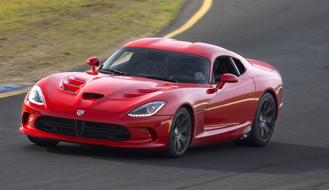 2015 Dodge Viper, Front-quarter view, exterior, manufacturer, gallery_worthy