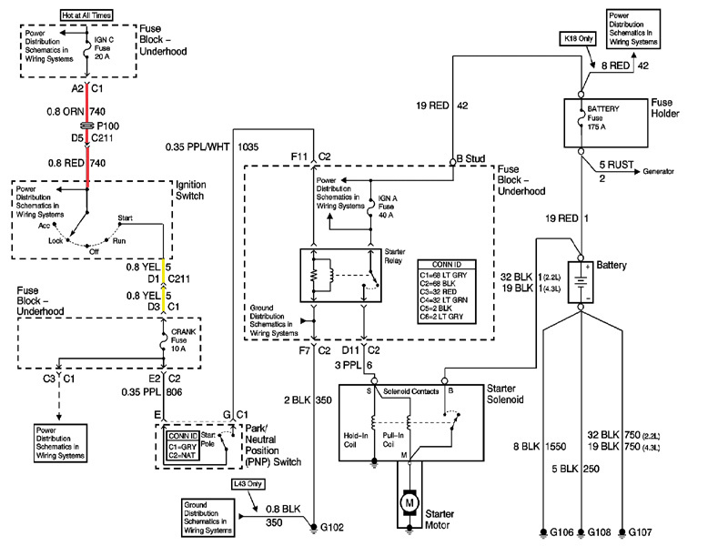 gmc c7500 wiring diagram starter with Discussion C1966 Ds649050 on Wiring furthermore Trailer Wire Diagram 4 Wire besides 3y0ue Need Wiring Diagram 2006 Ton Silverado Flatbed Chevy also 1999 2003 20Vortec 20V8 20PCM 20schematics also Chevrolet S 10 4 3 2001 Specs And Images.