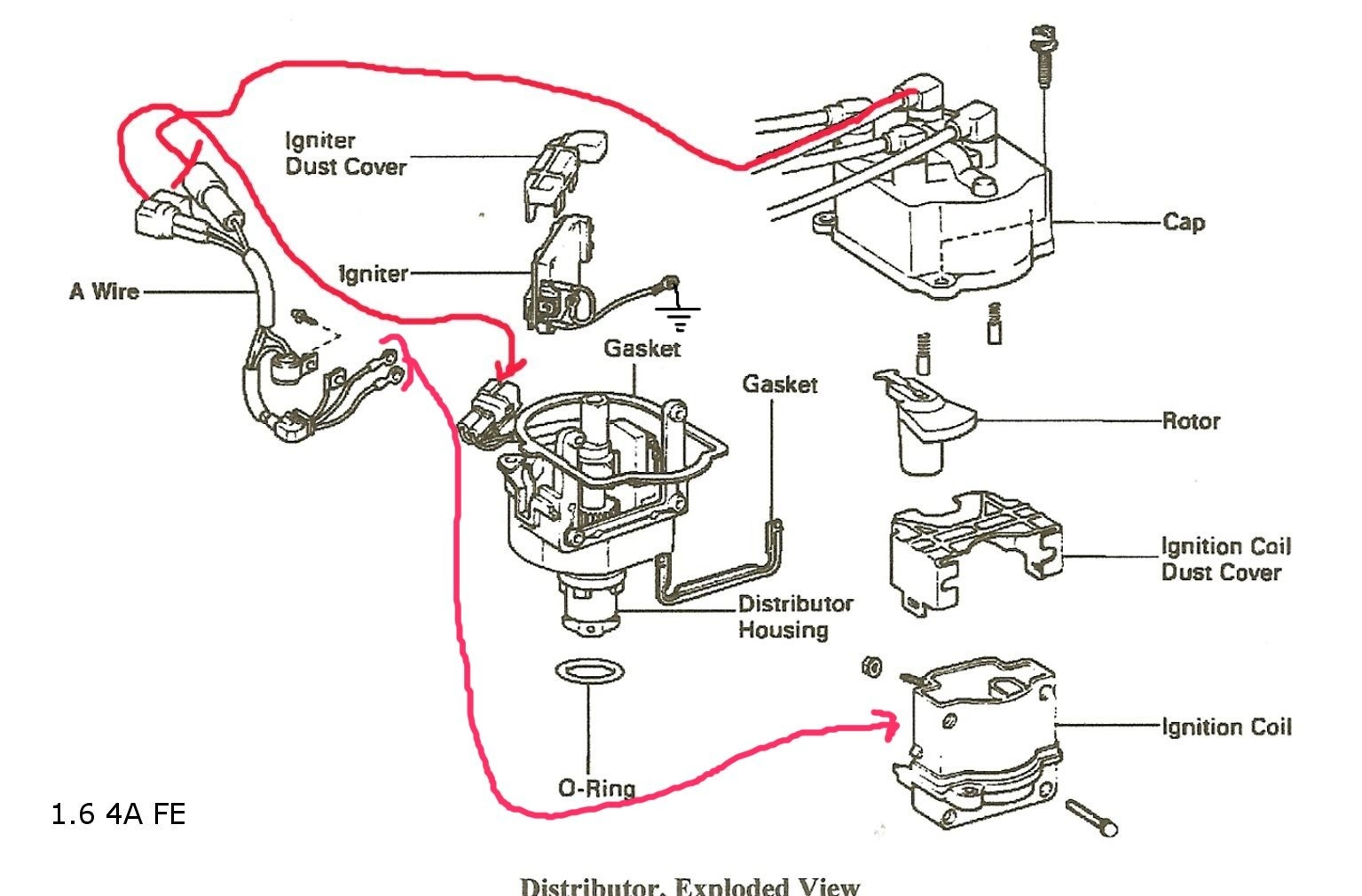 Toyota 22r Ignition Wiring Diagram Master Blogs Celica Questions Does Anybody Know What Can Cause 22re Igniter 1990 Pickup