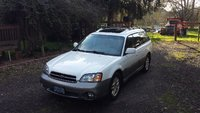 2001 Subaru Outback Limited Wagon, First day home from PortlandOregon 3/25/2015, exterior