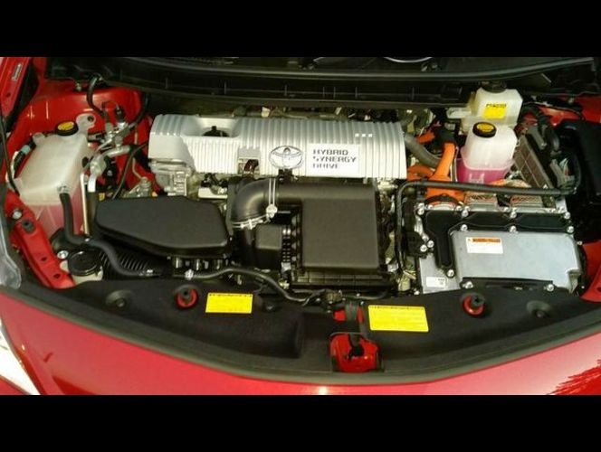 Picture of 2012 Toyota Prius Five, engine