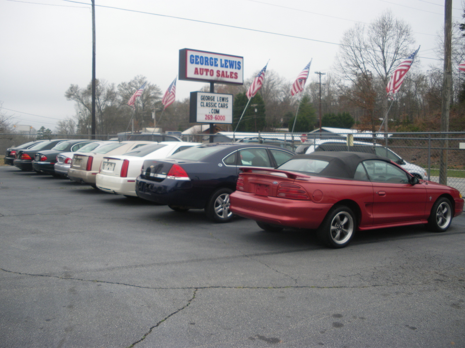Lewis Auto Sales >> George Lewis Classic Cars Autos Greenville Sc Read