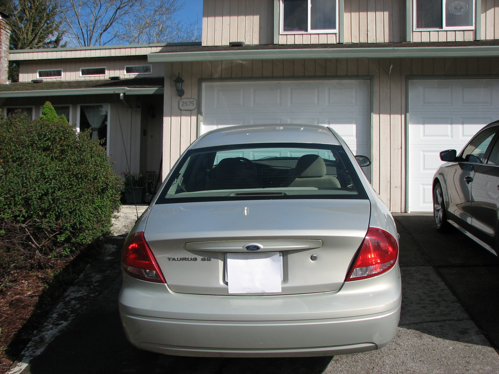 Picture of 2007 Ford Taurus SE Fleet