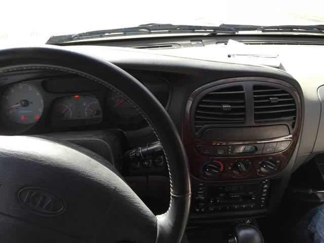 2017 Kia Niro Fe >> 2001 Kia Sportage - Interior Pictures - CarGurus